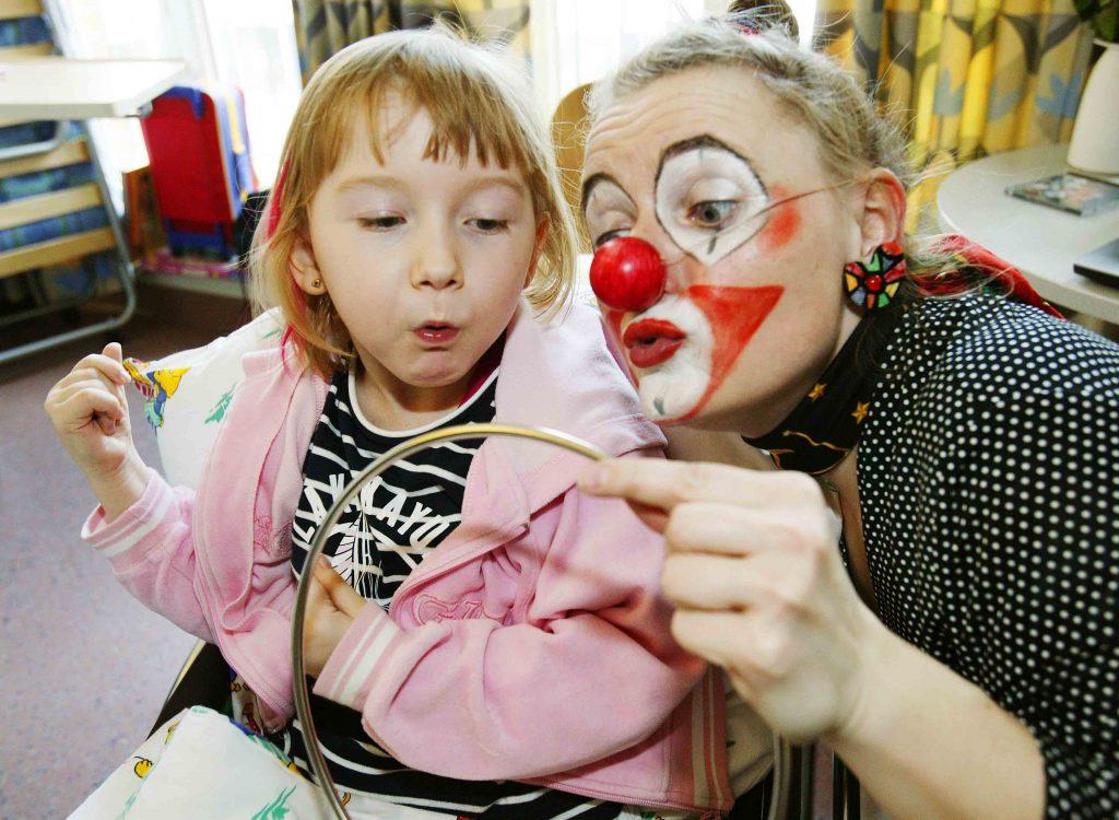 Aktion Kindertraum Blog Klinik Clown Uta Beger2Bog 1024x750 - Auch im Krankenhaus gibt's was zu lachen