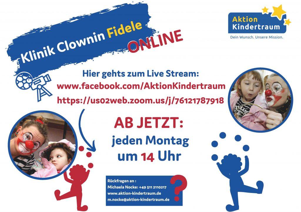 PlakatKlinikClowninFinalBlog 1024x723 - Auch im Krankenhaus gibt's was zu lachen