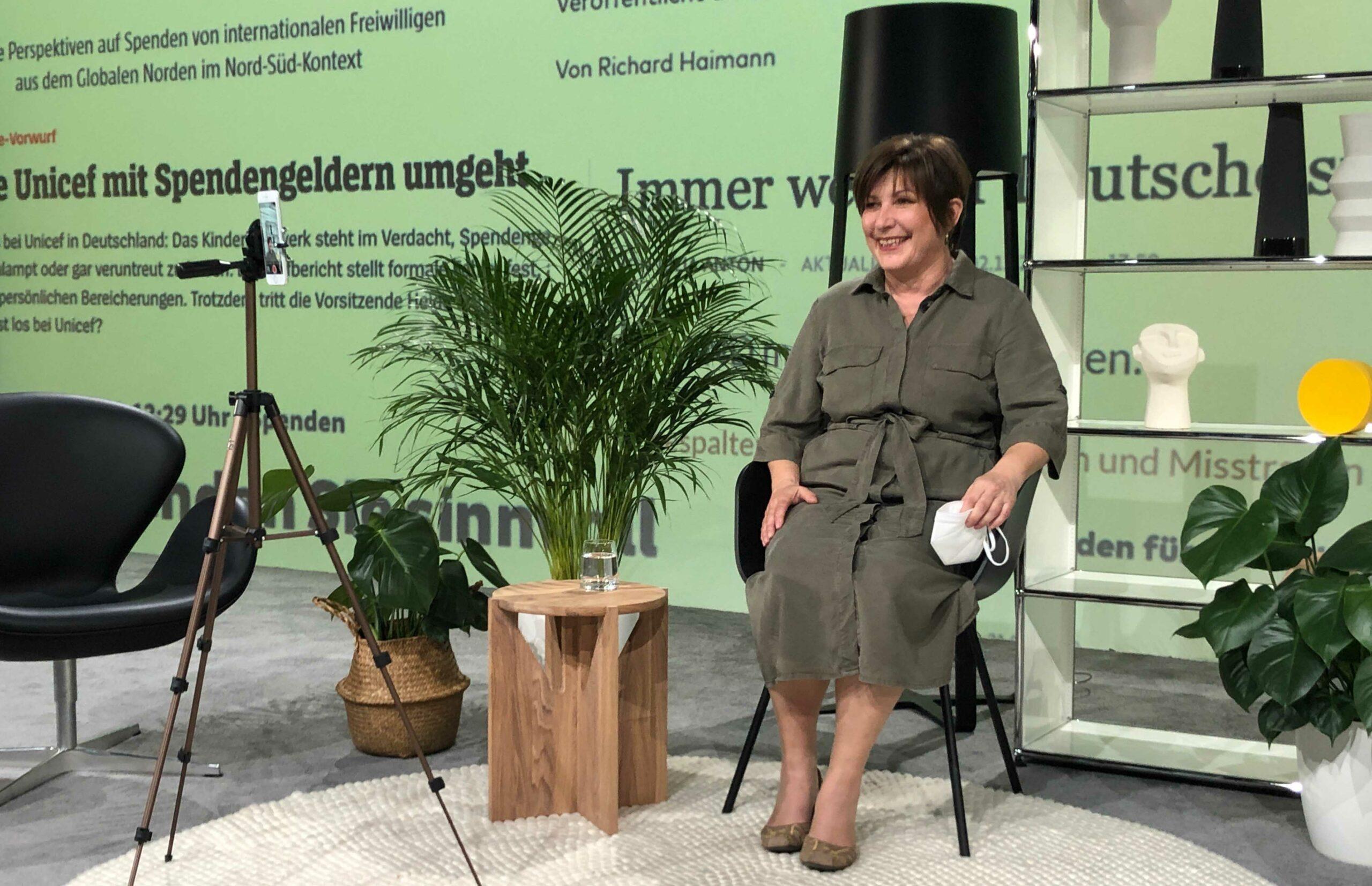 """Aktion Kindertraum Blog Aufnahme Blickpunkt UteFriese scaled - Unsere 2. Talkshow: Transparenz im """"Blickpunkt"""""""