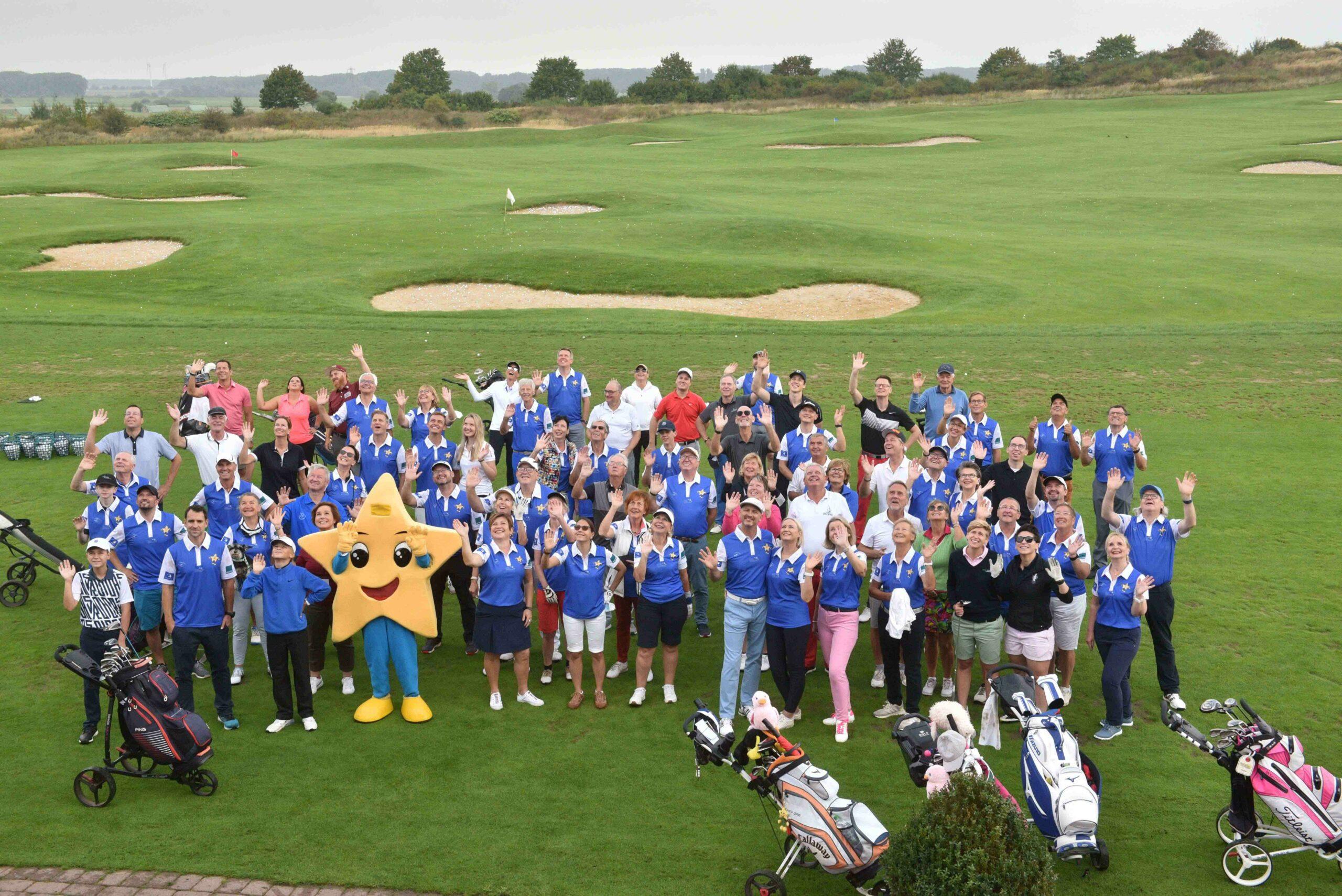 GruppenfotoWeb2 scaled - 8. Nicolas Kiefer Charity zu Gunsten von Aktion Kindertraum auf dem Golfplatz in Gleidingen